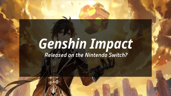 Genshin impact Nintendo Switch